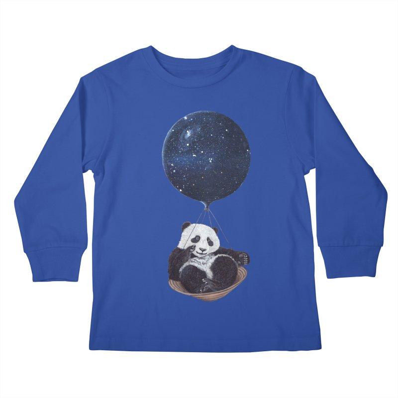 Panda Kids Longsleeve T-Shirt by ruta13art's Artist Shop