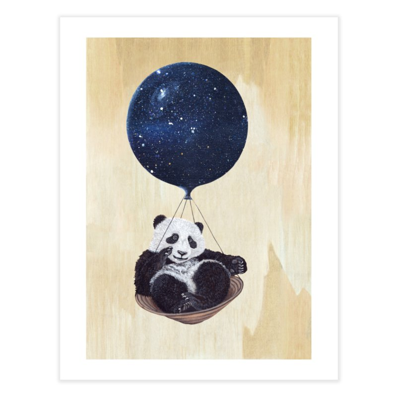 Panda Home Fine Art Print by ruta13art's Artist Shop