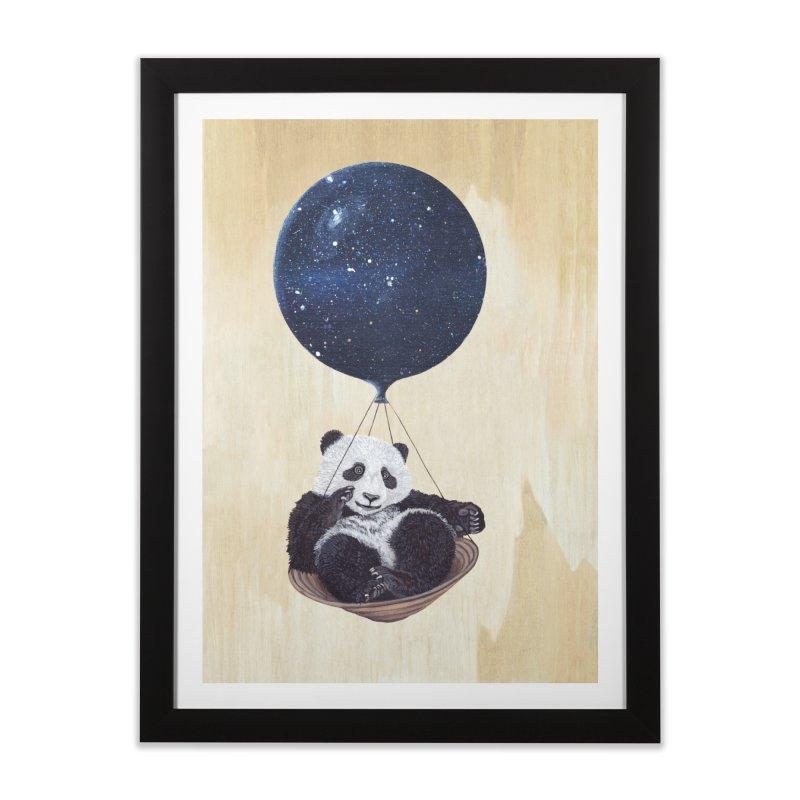 Panda Home Framed Fine Art Print by ruta13art's Artist Shop