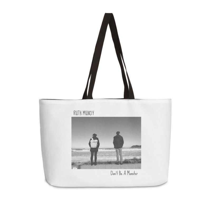 Ruth Mundy - Don't Be A Monster merch Accessories Weekender Bag Bag by Ruth Mundy