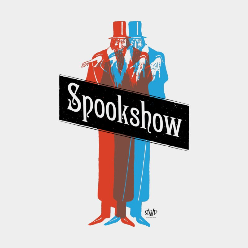 Spookshow Men's T-Shirt by Ran When Parked Supply Co.