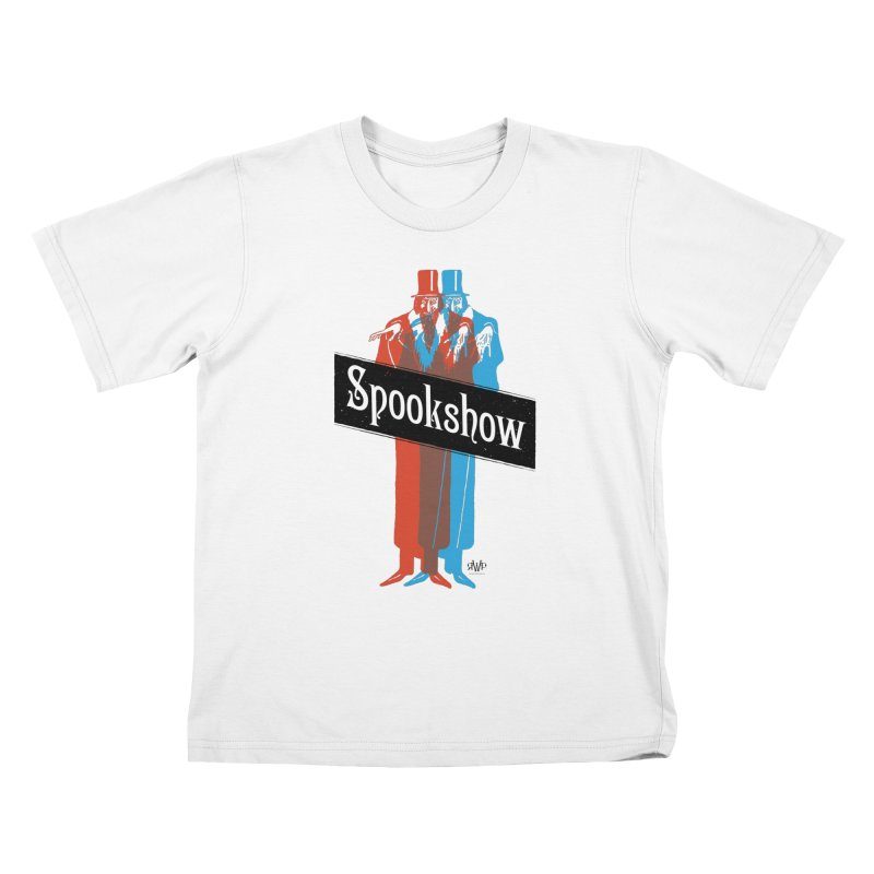 Spookshow Kids T-Shirt by Ran When Parked Supply Co.