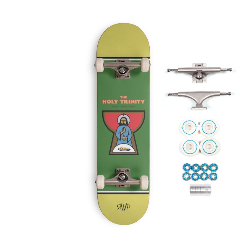 The Holy Trinity Accessories Skateboard by Ran When Parked Supply Co.