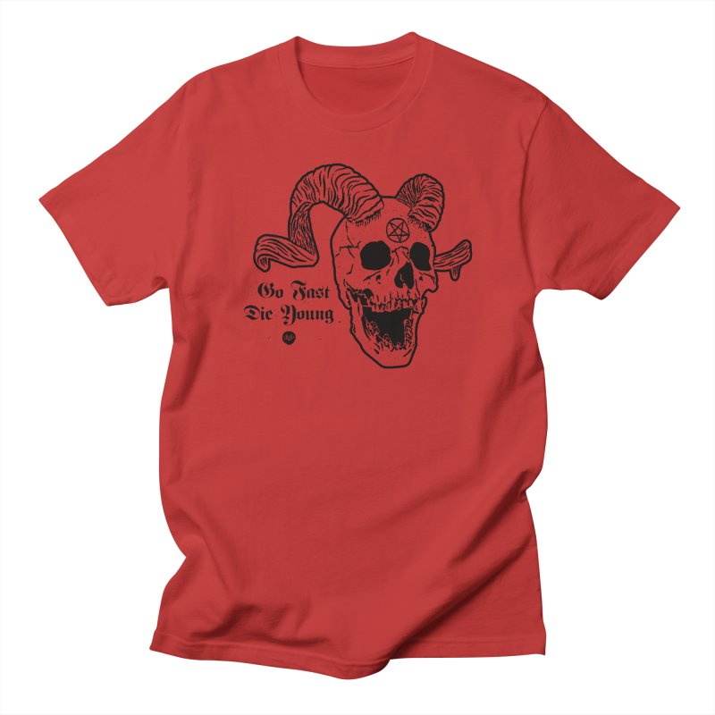 Go Fast, Die Young Women's T-Shirt by Ran When Parked Supply Co.