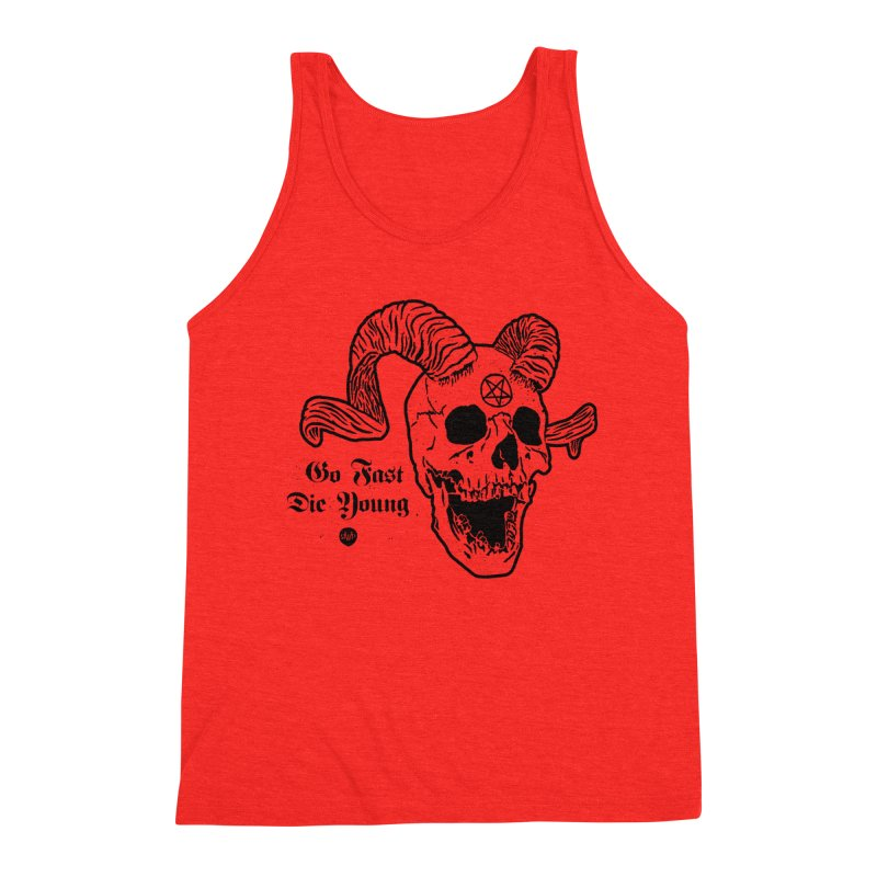 Go Fast, Die Young Men's Tank by Ran When Parked Supply Co.
