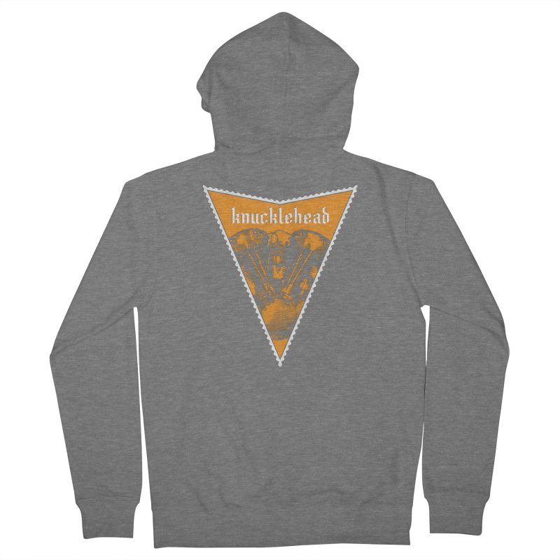 Knucklehead Women's Zip-Up Hoody by Ran When Parked Supply Co.