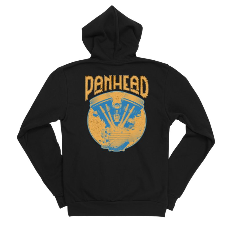 Panhead Men's Zip-Up Hoody by Ran When Parked Supply Co.