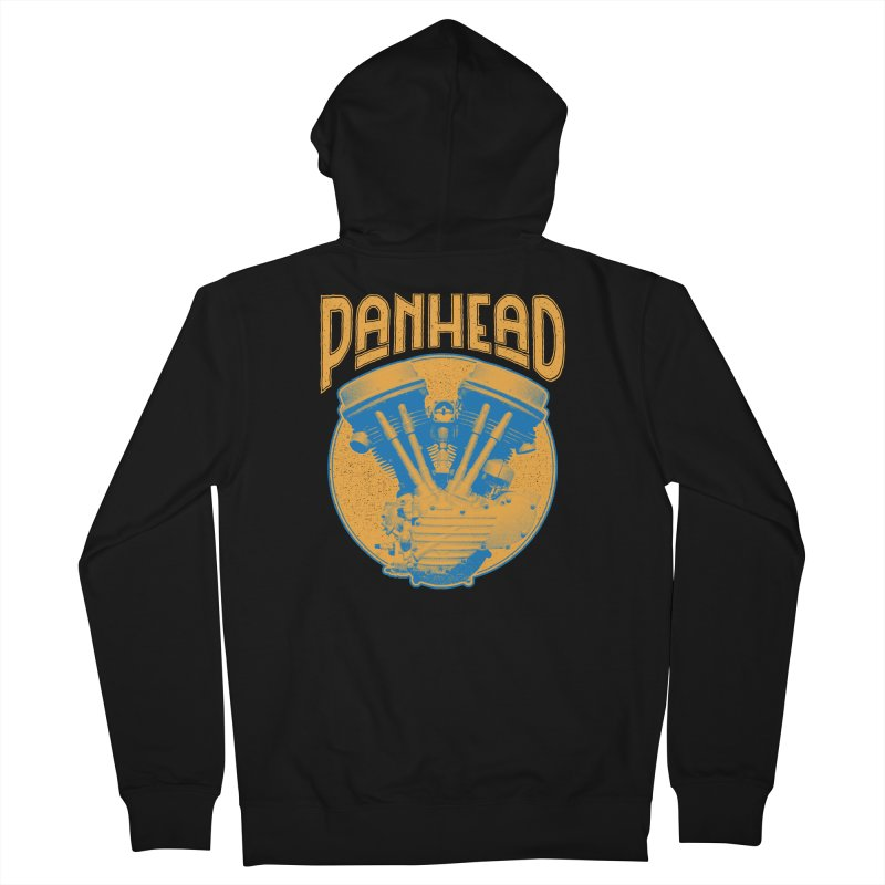 Panhead Women's Zip-Up Hoody by Ran When Parked Supply Co.