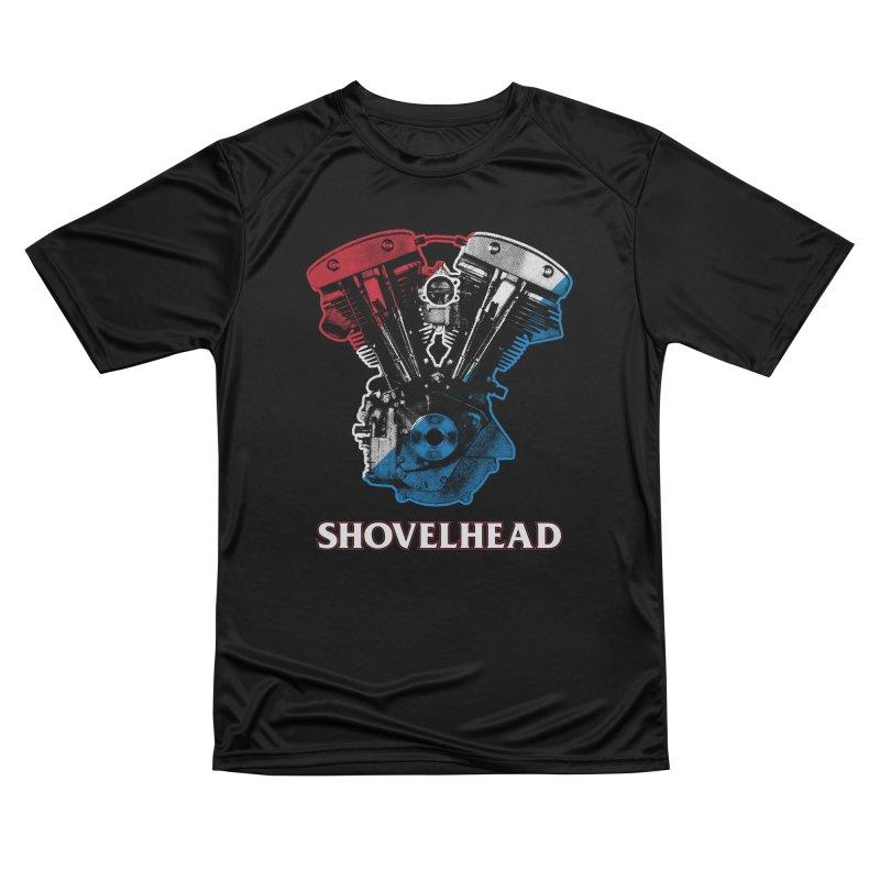 Shovelhead Women's T-Shirt by Ran When Parked Supply Co.