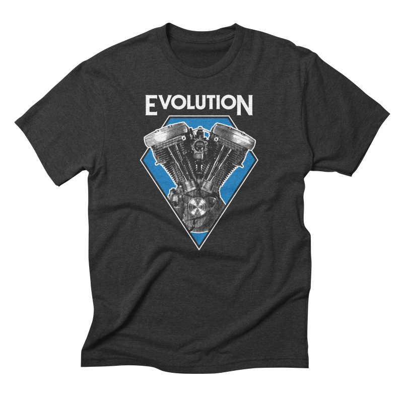 Evolution Men's T-Shirt by Ran When Parked Supply Co.