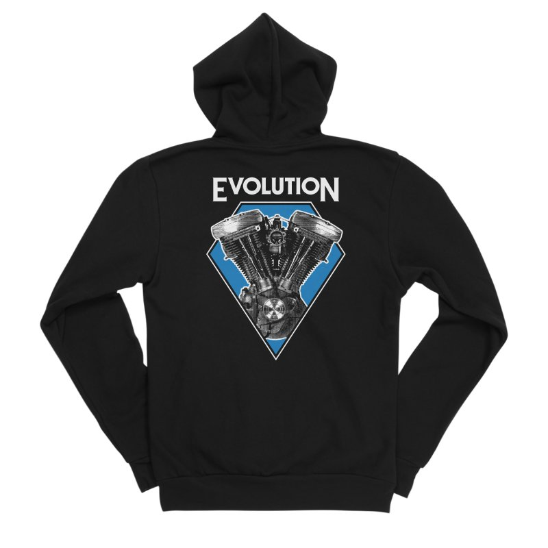 Evolution Men's Zip-Up Hoody by Ran When Parked Supply Co.
