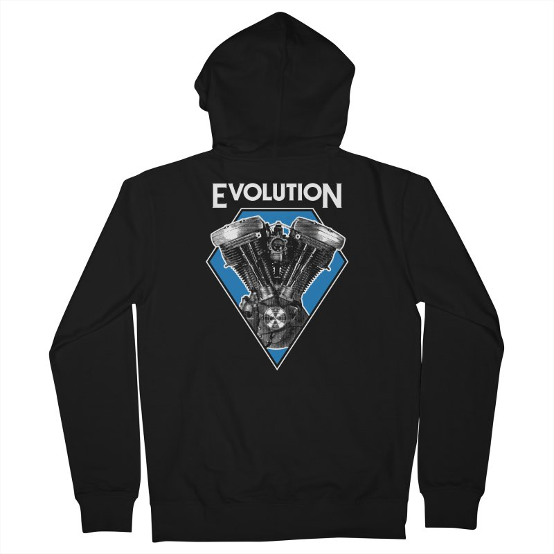 Evolution Women's Zip-Up Hoody by Ran When Parked Supply Co.