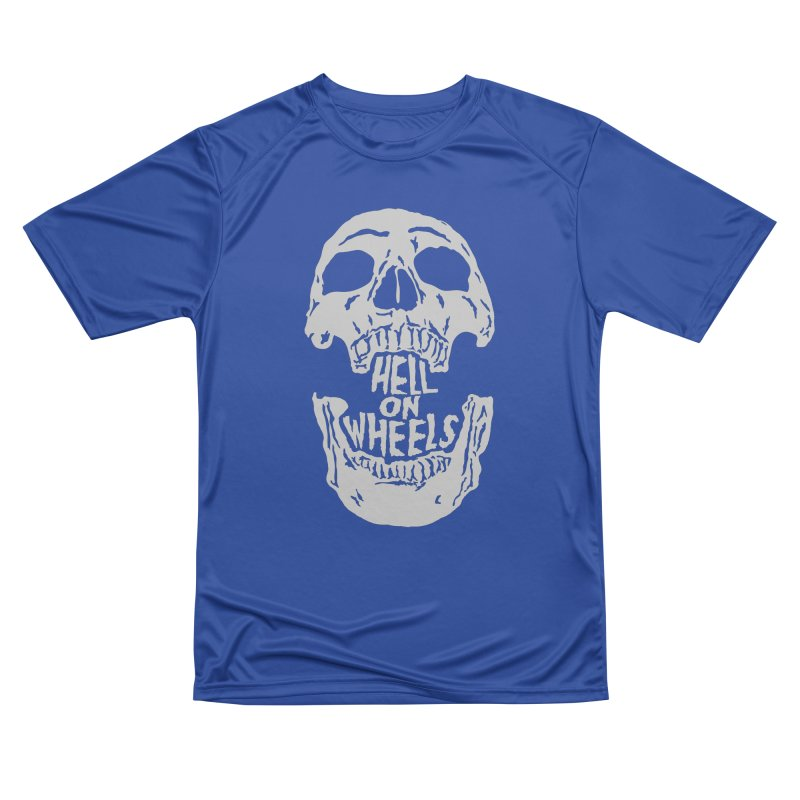 Hell On Wheels (Silver) Women's T-Shirt by Ran When Parked Supply Co.