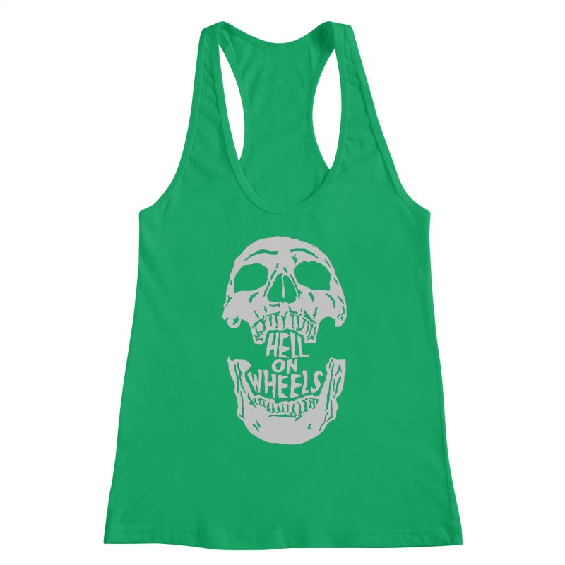 Hell On Wheels (Silver) Women's Tank by Ran When Parked Supply Co.