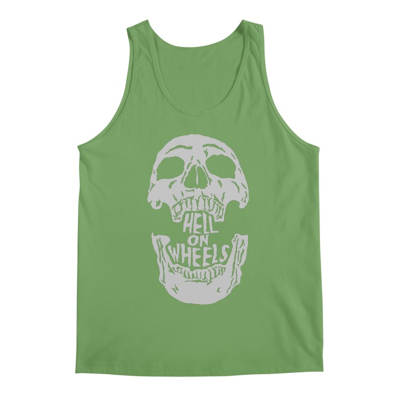 Hell On Wheels (Silver) Men's Tank by Ran When Parked Supply Co.