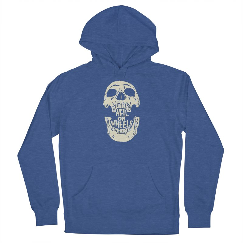 Hell On Wheels (Bone) Women's Pullover Hoody by Ran When Parked Supply Co.