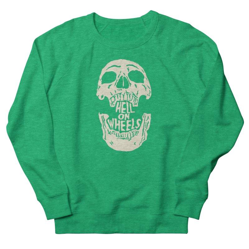 Hell On Wheels (Bone) Women's Sweatshirt by Ran When Parked Supply Co.