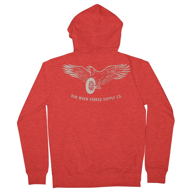 Flying Eagle Women's Zip-Up Hoody by Ran When Parked Supply Co.