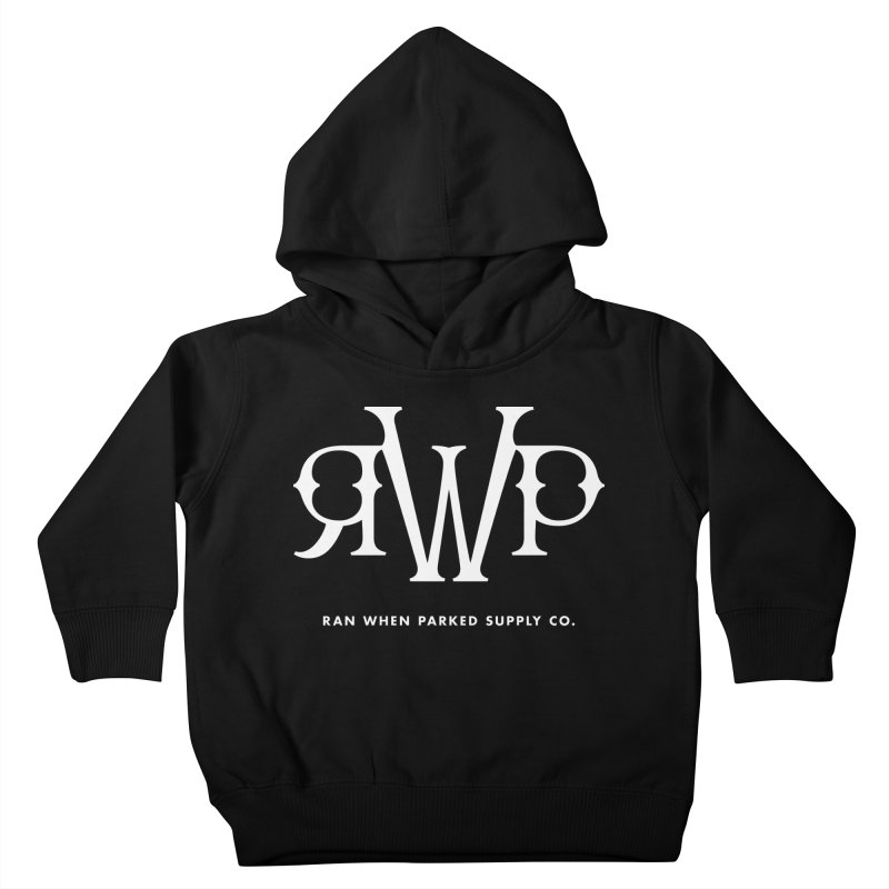 RWP Logo Kids Toddler Pullover Hoody by Ran When Parked Supply Co.