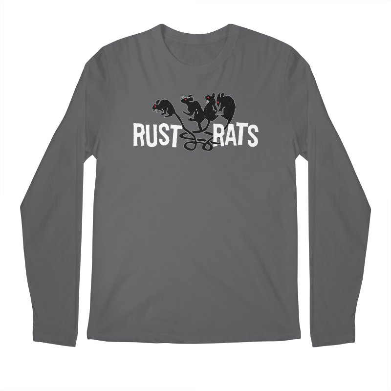 Rust Rats Men's Longsleeve T-Shirt by Ran When Parked Supply Co.
