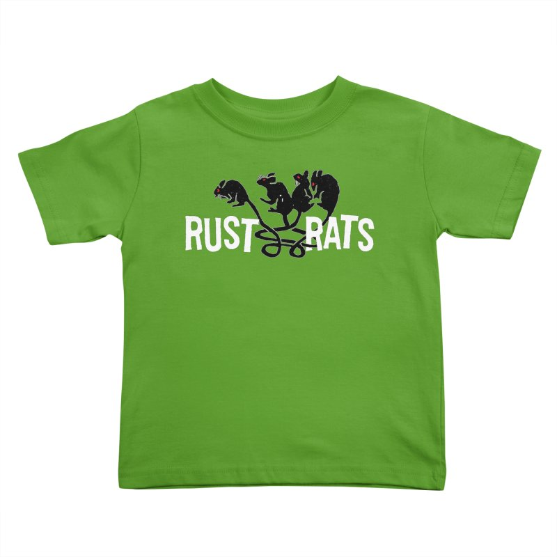Rust Rats Kids Toddler T-Shirt by Ran When Parked Supply Co.