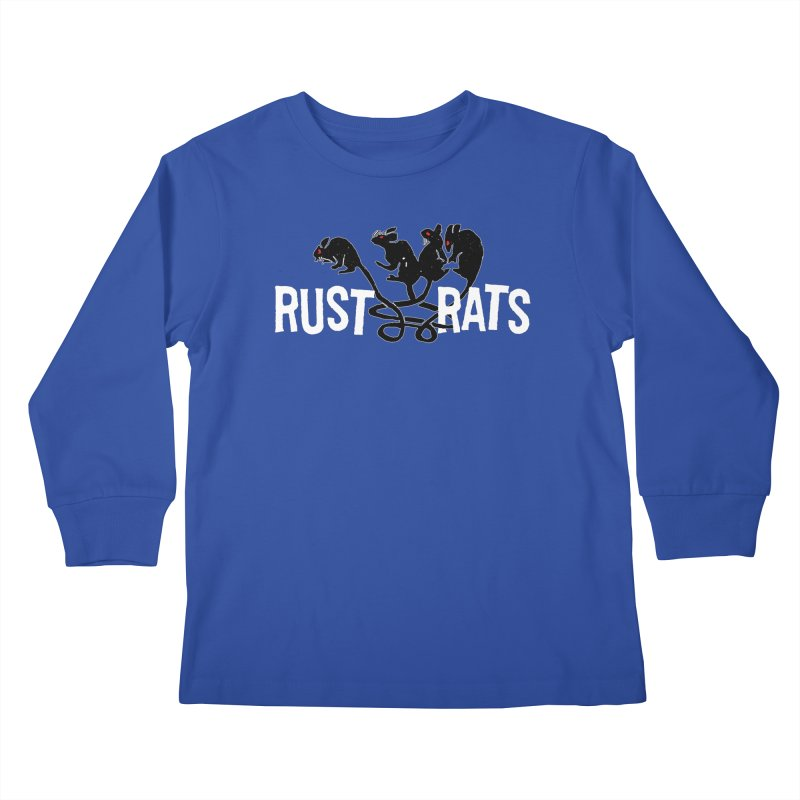 Rust Rats Kids Longsleeve T-Shirt by Ran When Parked Supply Co.