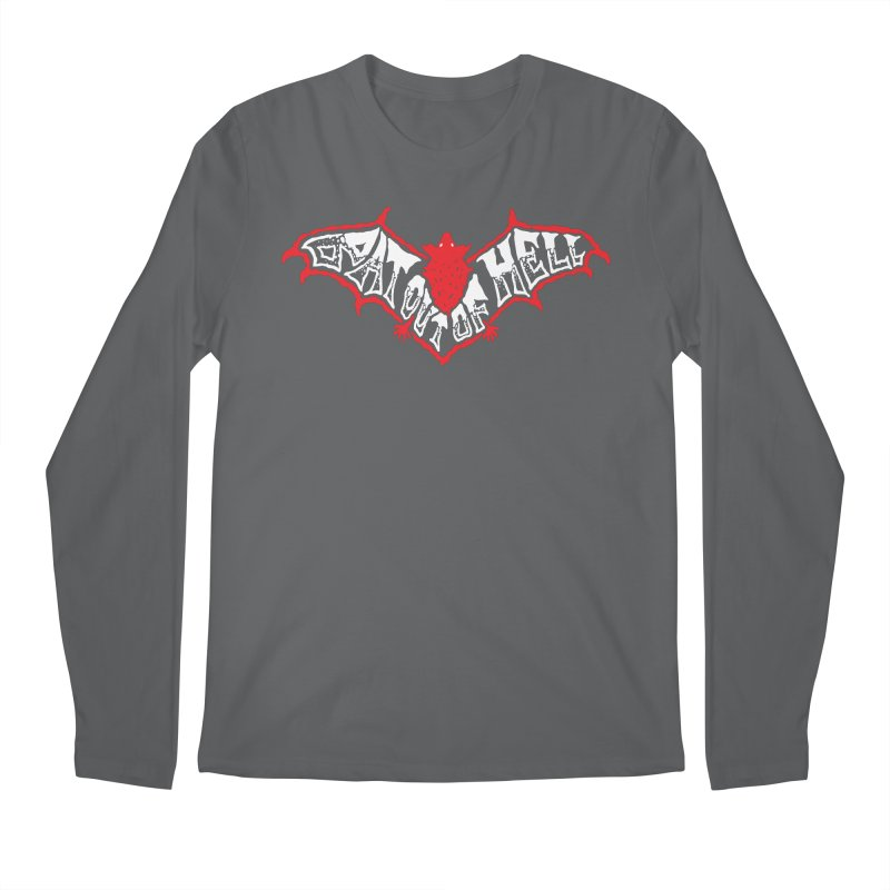 Bat Out Of Hell (v1) Men's Longsleeve T-Shirt by Ran When Parked Supply Co.