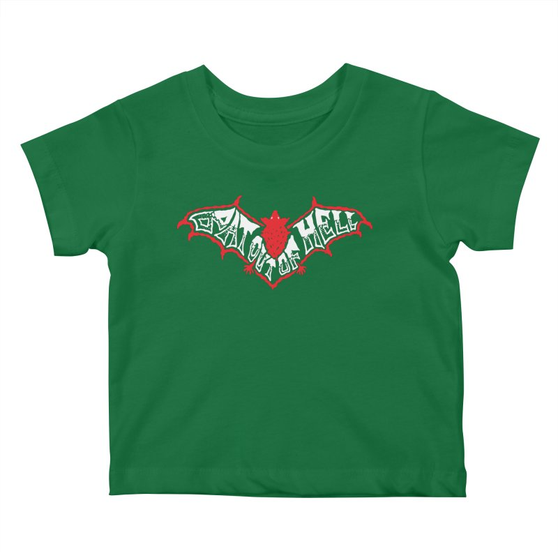 Bat Out Of Hell (v1) Kids Baby T-Shirt by Ran When Parked Supply Co.