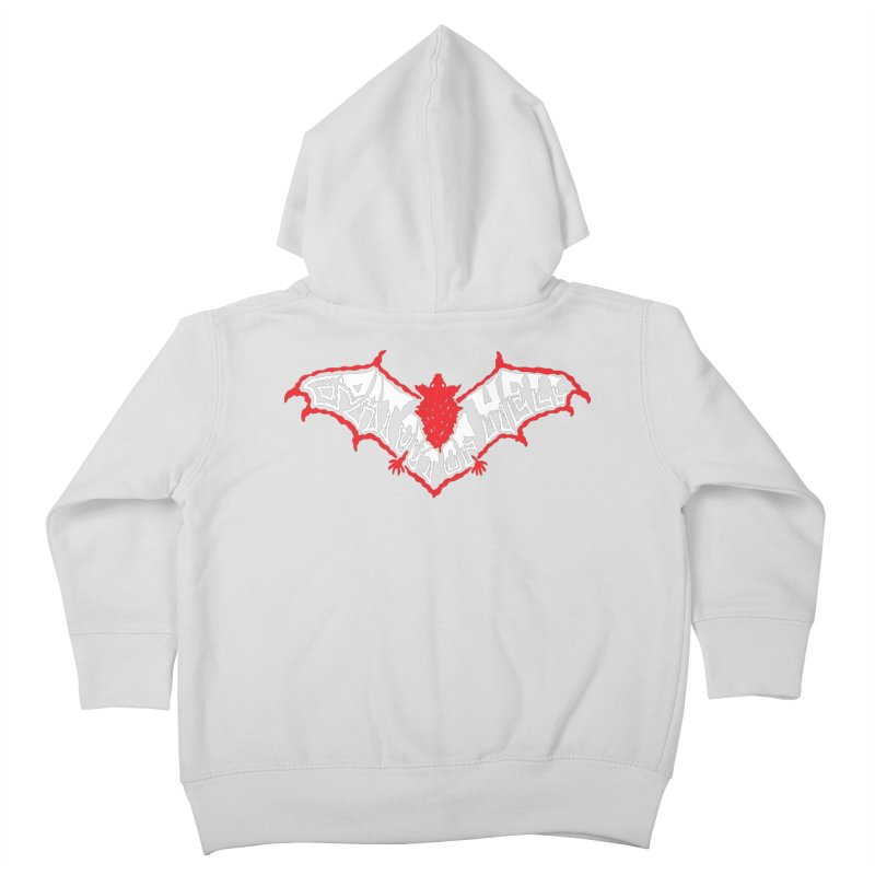 Bat Out Of Hell (v1) Kids Toddler Zip-Up Hoody by Ran When Parked Supply Co.
