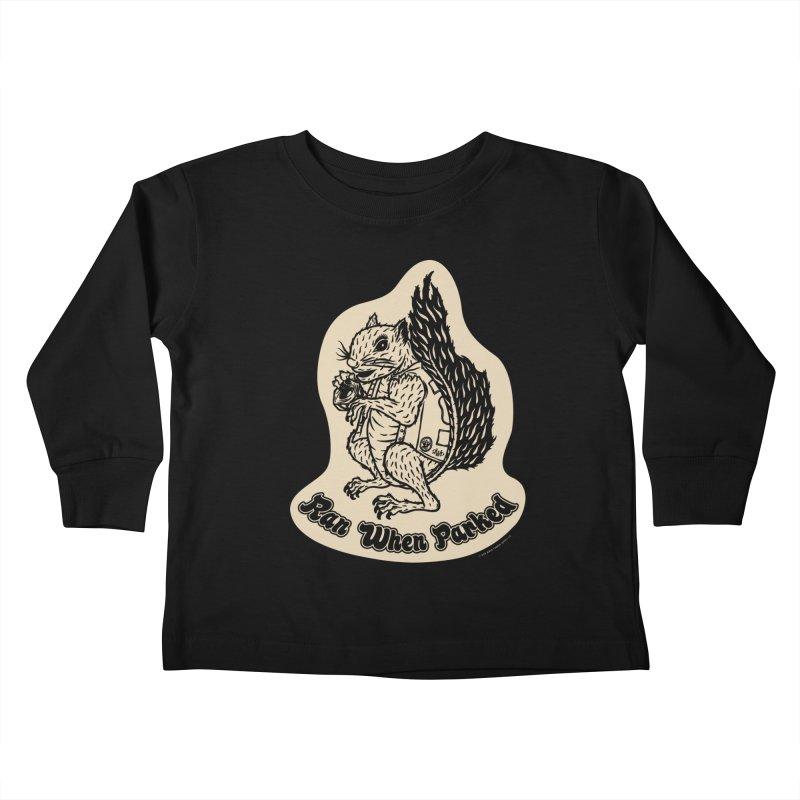Hustlin' Harry Kids Toddler Longsleeve T-Shirt by Ran When Parked Supply Co.