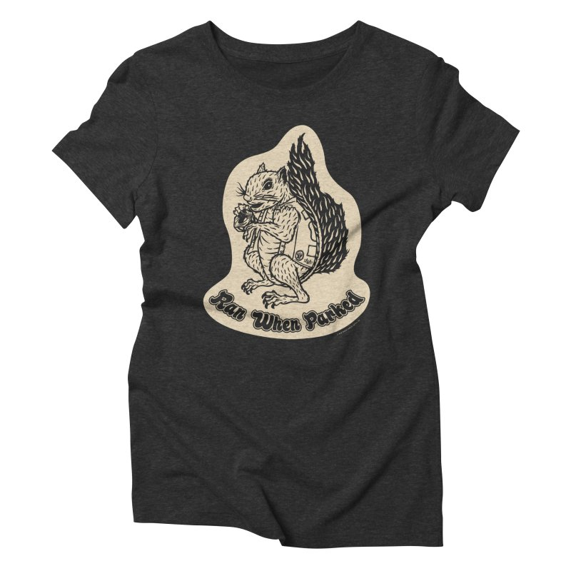 Hustlin' Harry Women's T-Shirt by Ran When Parked Supply Co.