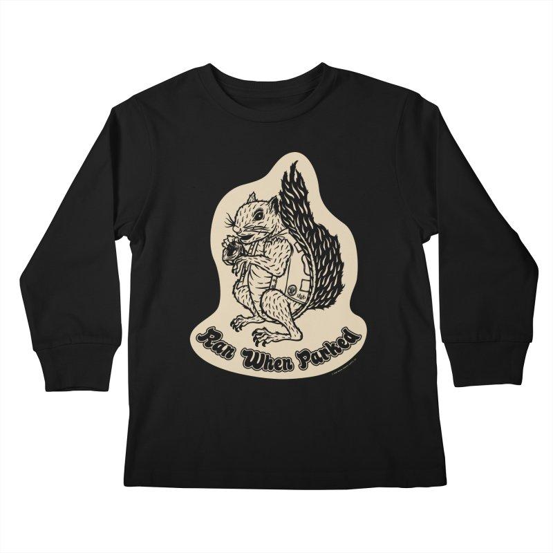 Hustlin' Harry Kids Longsleeve T-Shirt by Ran When Parked Supply Co.