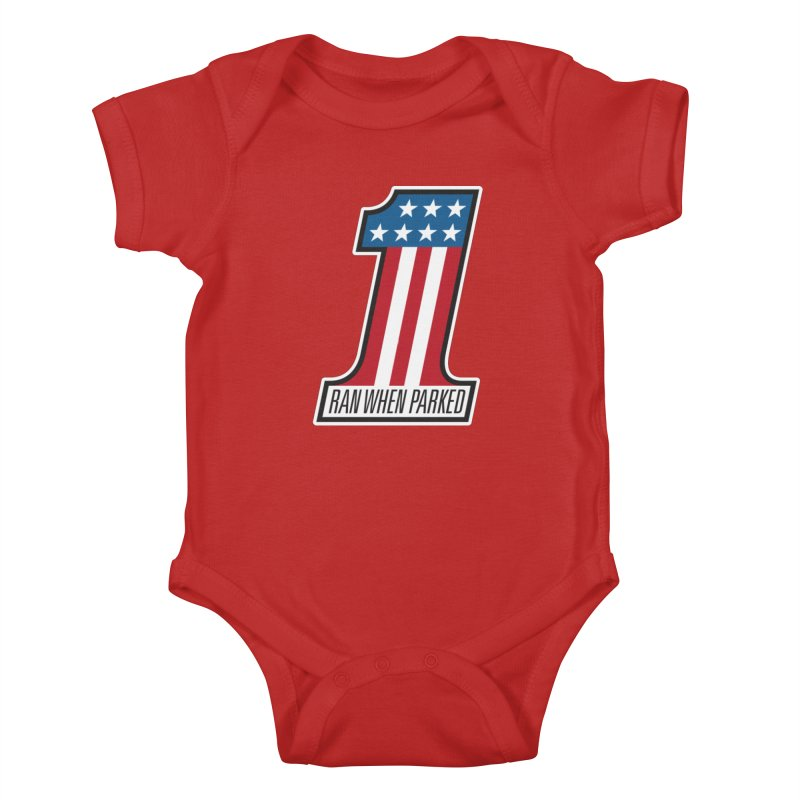 No. 1 Kids Baby Bodysuit by Ran When Parked Supply Co.