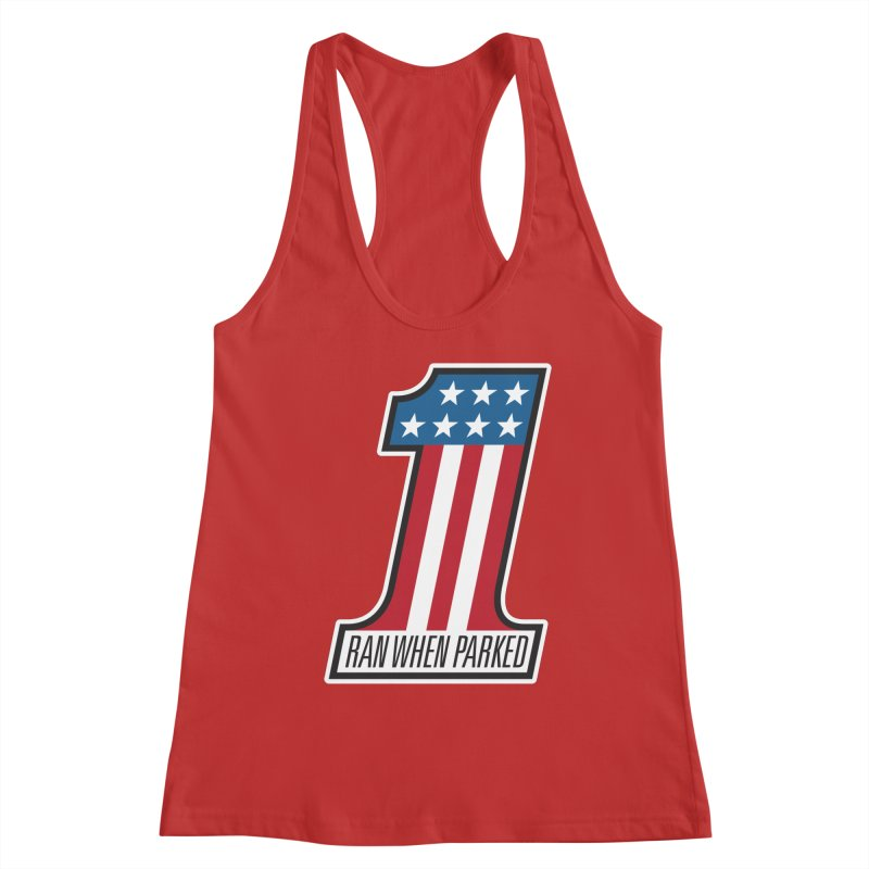 No. 1 Women's Tank by Ran When Parked Supply Co.