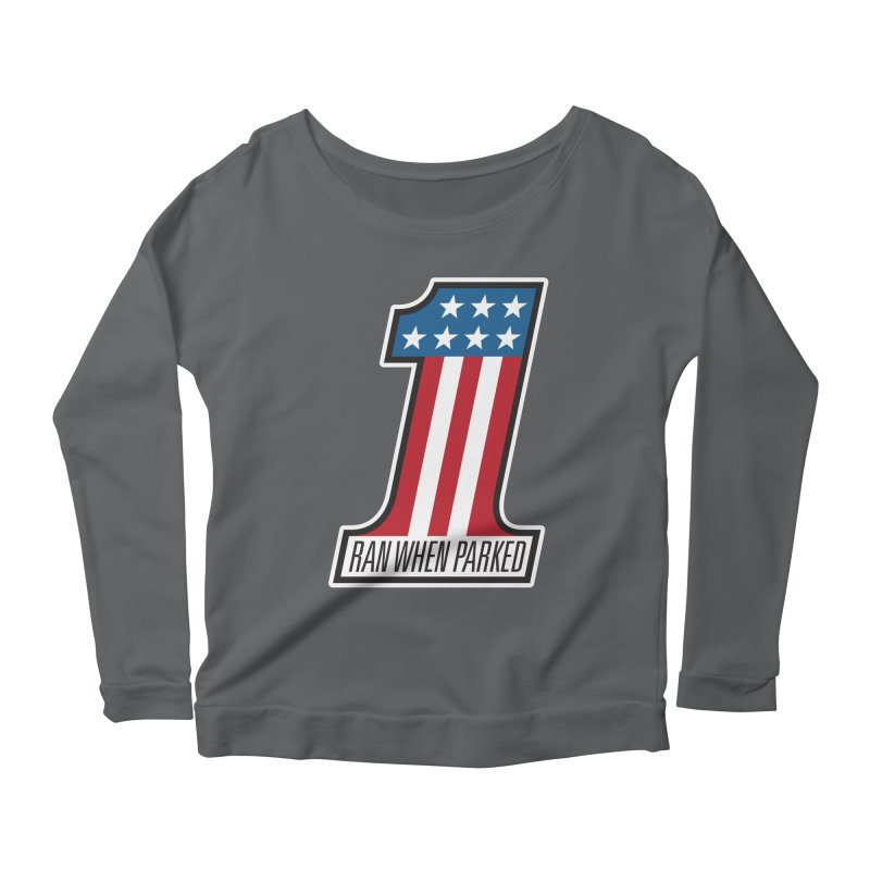 No. 1 Women's Longsleeve T-Shirt by Ran When Parked Supply Co.