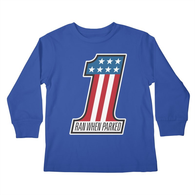 No. 1 Kids Longsleeve T-Shirt by Ran When Parked Supply Co.