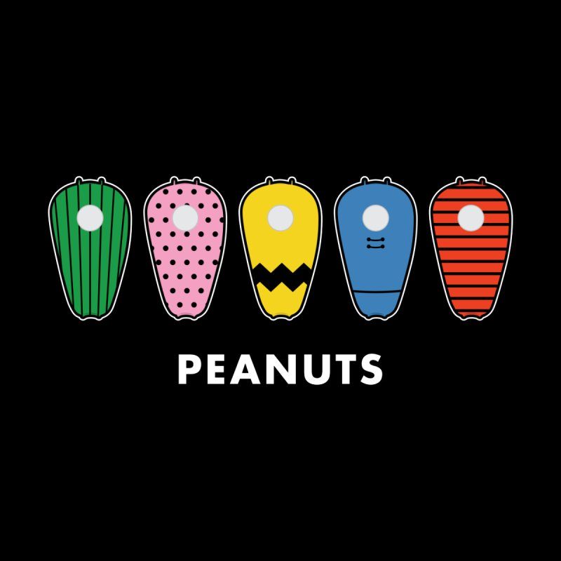 Peanuts Kids Baby T-Shirt by Ran When Parked Supply Co.