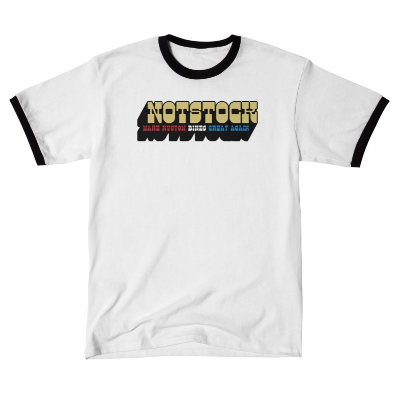 NOTSTOCK - Bikes Men's T-Shirt by Ran When Parked Supply Co.
