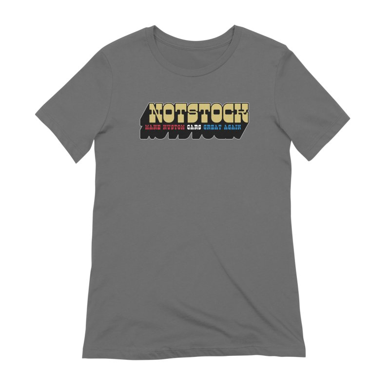 NOTSTOCK - Cars Women's T-Shirt by Ran When Parked Supply Co.