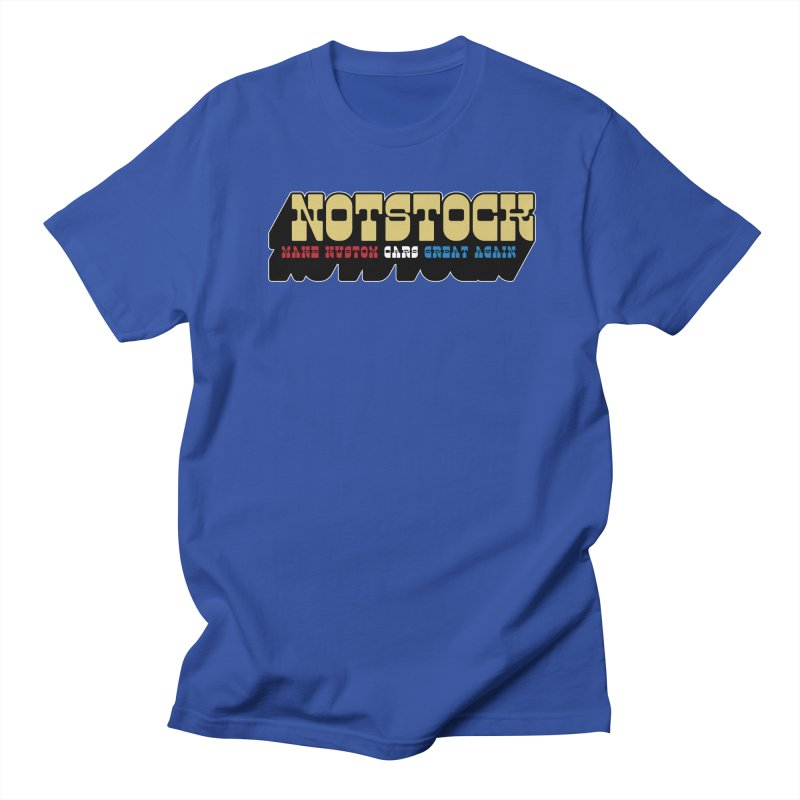 NOTSTOCK - Cars Men's T-Shirt by Ran When Parked Supply Co.
