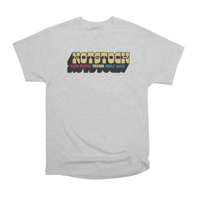 NOTSTOCK - Trucks Men's T-Shirt by Ran When Parked Supply Co.