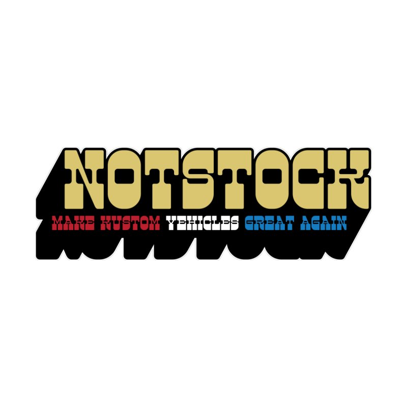 NOTSTOCK - Vehicles Men's T-Shirt by Ran When Parked Supply Co.
