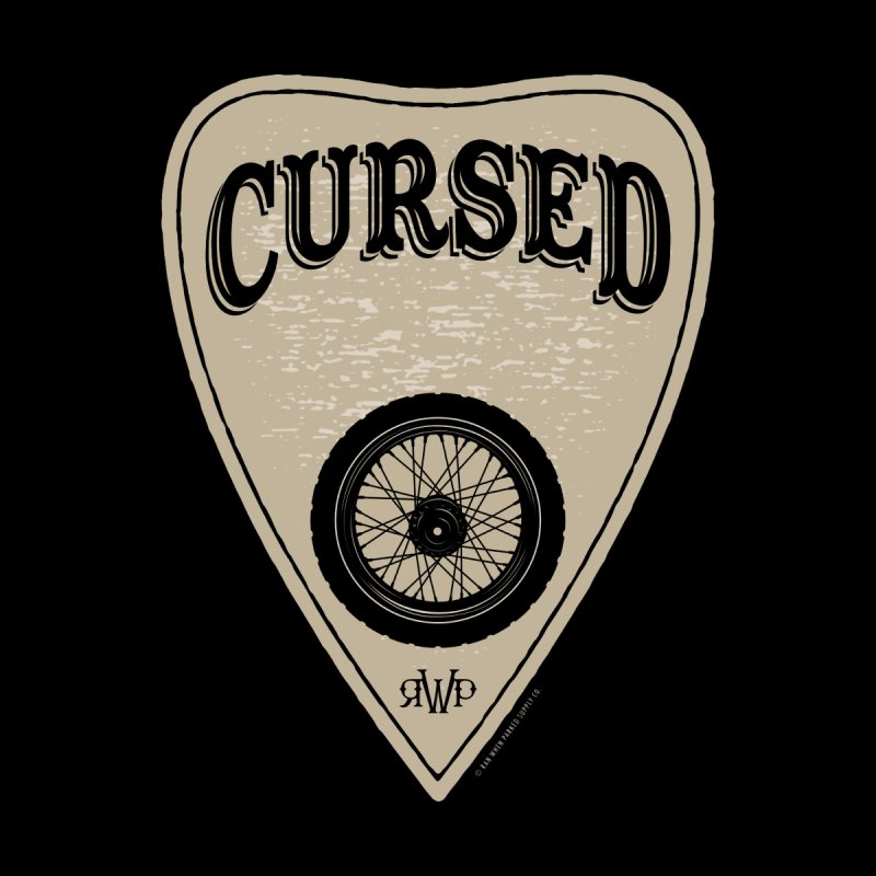 Cursed - Motorcycle Men's T-Shirt by Ran When Parked Supply Co.