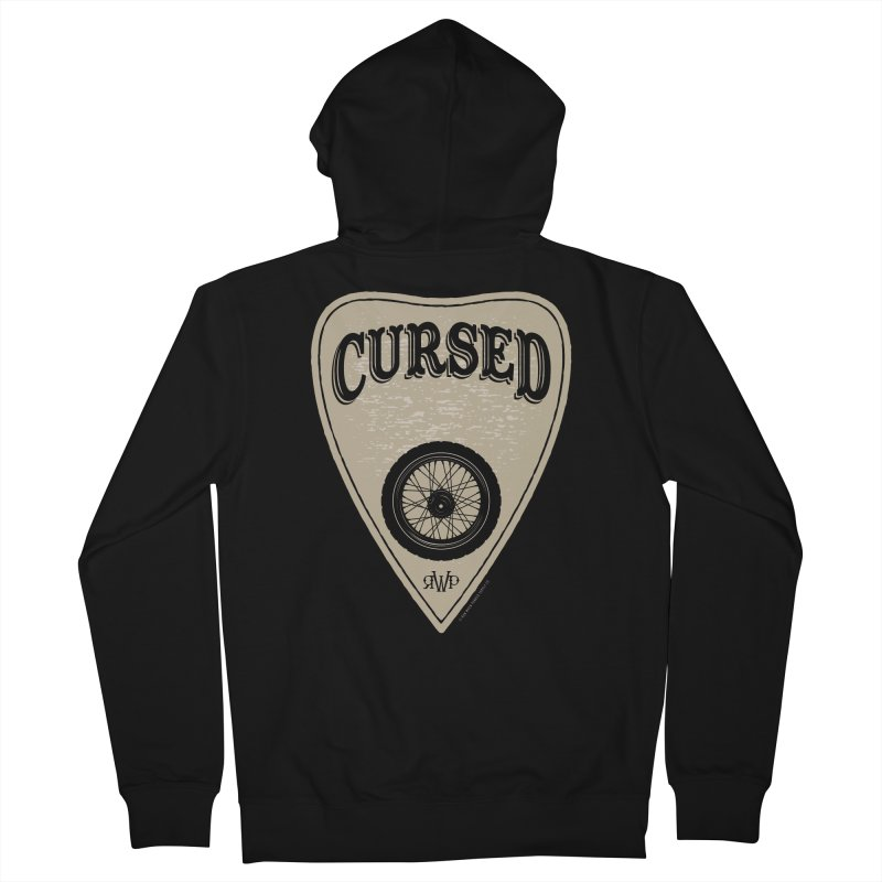 Cursed - Motorcycle Men's Zip-Up Hoody by Ran When Parked Supply Co.