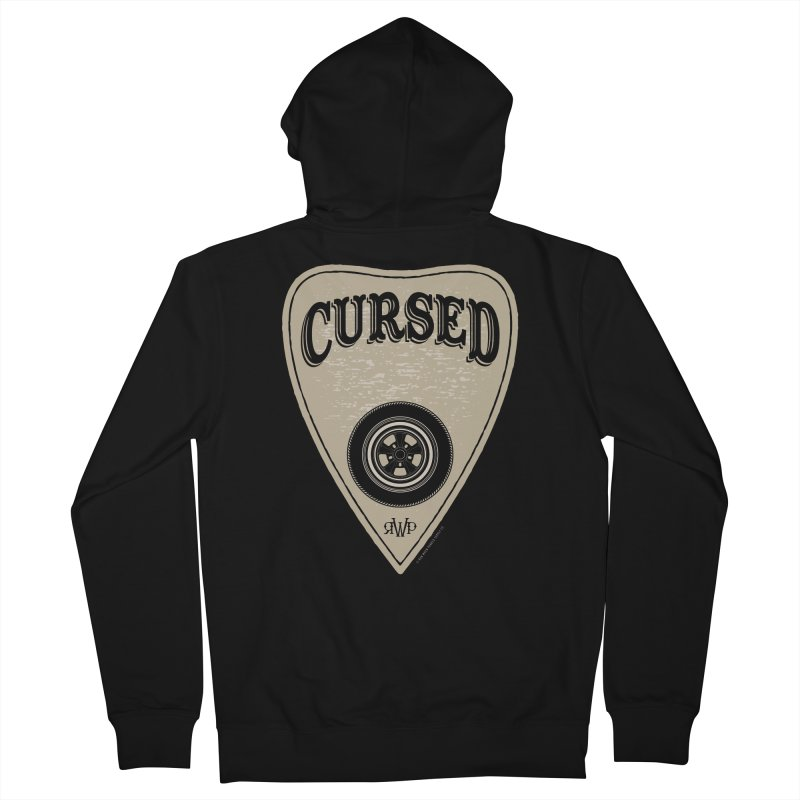Cursed - Hot Rod Women's Zip-Up Hoody by Ran When Parked Supply Co.
