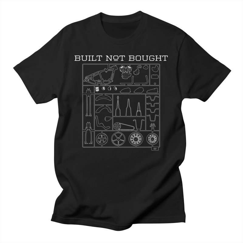 Built Not Bought Men's T-Shirt by Ran When Parked Supply Co.