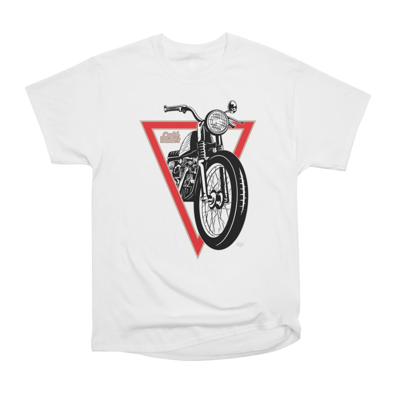 Cafe Racer Women's T-Shirt by Ran When Parked Supply Co.