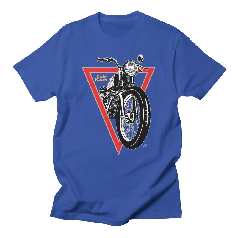 Cafe Racer Men's T-Shirt by Ran When Parked Supply Co.