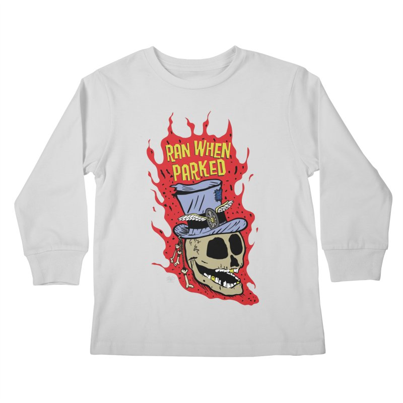 RWP Voodoo Skull Kids Longsleeve T-Shirt by Ran When Parked Supply Co.