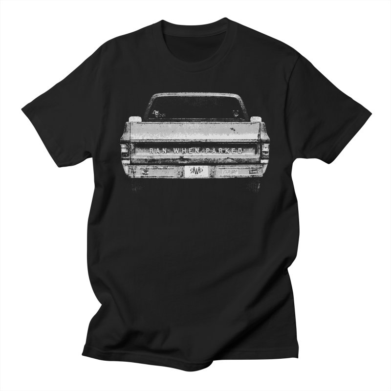 Ran When Parked Tailgate (Grey) Men's T-Shirt by Ran When Parked Supply Co.